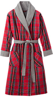 Double Comfort Flannel Robe