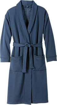 Mens Ridgeline Fleece Wrap Robe
