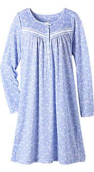 Womens Floral Waltz Nightgown
