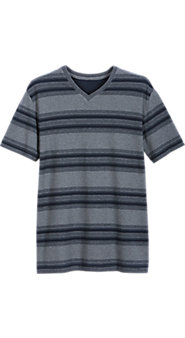 Striped Cotton Pique Sleepshirt