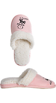 Womens Peanut Slippers
