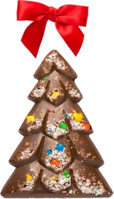 Chocolate Candy Cane Tree   Christmas Chocolate Candy Tree