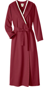 Womens Portuguese Cotton Chamois Robe