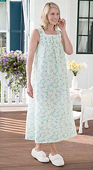 Lanz Gardenia Nightgown