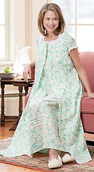 Womens Lanz Gardenia Robe