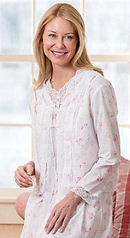 Eileen West Morning Meadow Bed Jacket