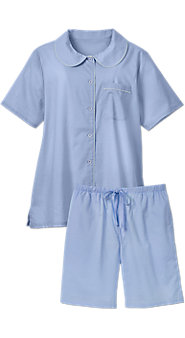 Womens Batiste Shortie Pajamas