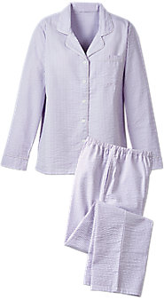 Womens Seersucker Pajamas