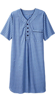 Madras Plaid Nightshirt