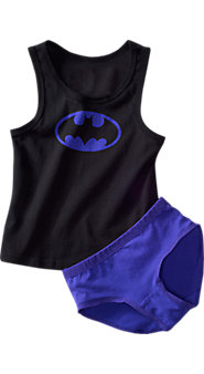 Girls Superhero Underoos