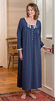 Eileen West Midnight Knit Gown