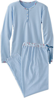 Blue Beauty Pajamas