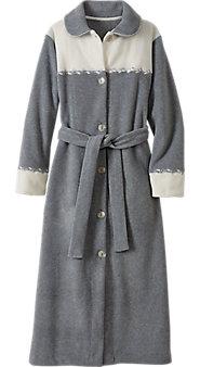 Winter Sky Fleece Robe