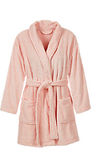 Plush Pink Butterfly Robe