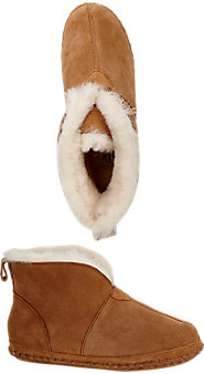 Soft Bottom Sheepskin Booties
