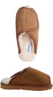 Womens Australian Sheepskin Adjustable Slippers