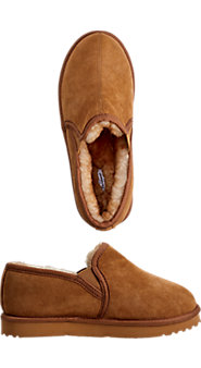 Double Gore Sheepskin Slipper