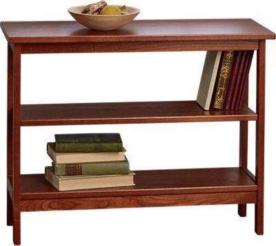Under Window Bookcase Wooden Bookshelf