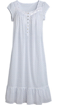Eileen West Dots and Daisies Nightgown