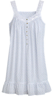 Eileen West Dots and Daisies Chemise