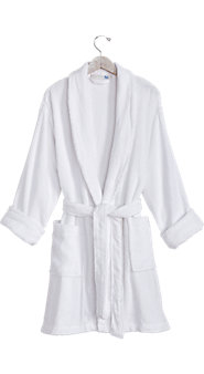 Womens Terry Spa Robe