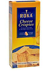 Smile and Say Cheese Crispies, the Light Puff Pastry Snack Made with 30% Real Gouda Cheese