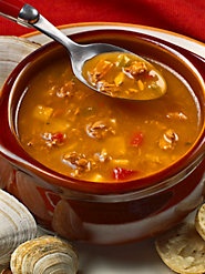 Savory Manhattan Clam Chowder—Awarded the American Taste Award of Excellence