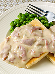 """SOS"" - Creamed Chipped Beef: As Full of Flavor as It Is Memories"