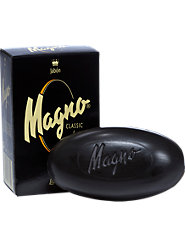 Magno Black Glycerine Soap, Enriched with Spanish Mineral Salts and Lanolin