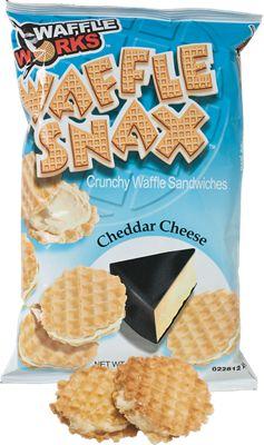 Old London Cheddar Waffle Snacks