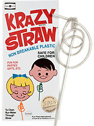 Original Krazy Straws (Set of 4 Straws)