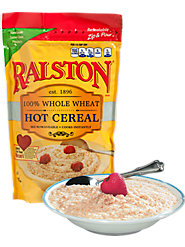 Ralston Hot Cereal Is Nutritious 100% Whole Grain Wheat