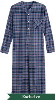 Mens Orton Plaid Nightshirt