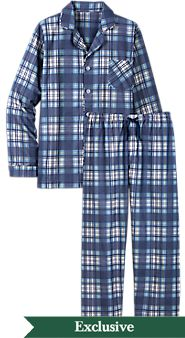 Mens Button Front Portuguese Flannel Pajamas