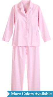 Broadcloth Cotton Pajamas