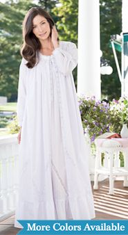 Eileen West Moonlight Sonata Cotton Robe