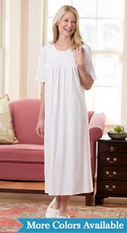 Calida Cotton Short Sleeve Nightgown