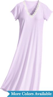 Womens FeelGood Mid Calf Nightgown