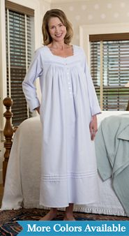 Eileen West Fairy Tale Flannel Nightgown