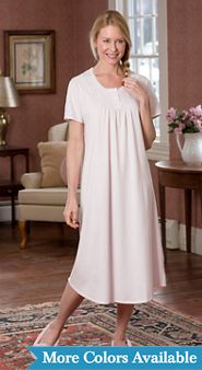 Sweet Dreams Cotton Knit Nightgown