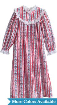 Girls Lanz Tyrolean Nightgown