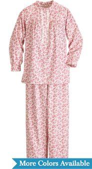 Women's Floral 'n Lace Flannel Pajamas