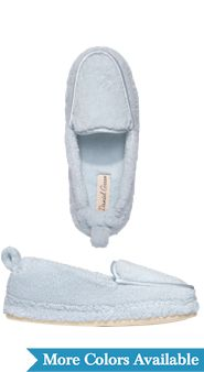 Ultra-Plush Terry-Cloth Slippers