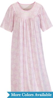 Women's Calida Short-Sleeve Print Nightgown