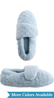 Womens Acorn Spa Wrap Slippers
