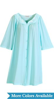 Women's Miss Elaine Short Robe