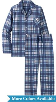 Button Front Portuguese Flannel Pajamas