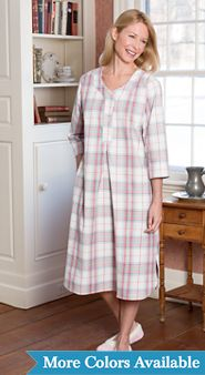 Womens Portuguese Flannel Nightshirt