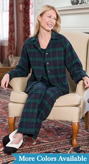 3 Piece Flannel Pajama Set