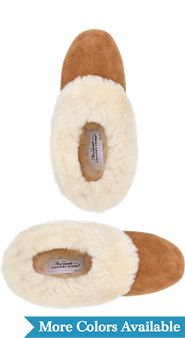 Womens Sheepskin Ballet Slippers